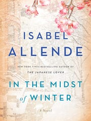 """In the Midst of Winter,"" is the new book by Chilean author Isabel Allende."