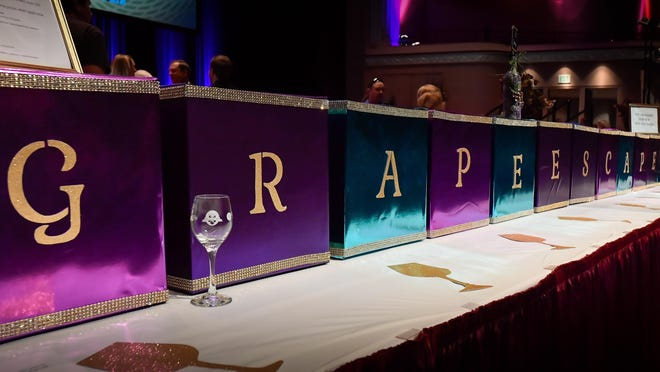 The Topeka Performing Arts Center has canceled its annual food and wine tasting fundraiser Grape Escape.