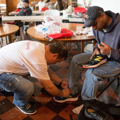 Shoe Pantry Plus caters to an elite clientele: Metro Detroit's homeless veterans