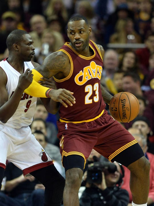 LeBron James, Kevin Love power Cavaliers past Heat in home ...