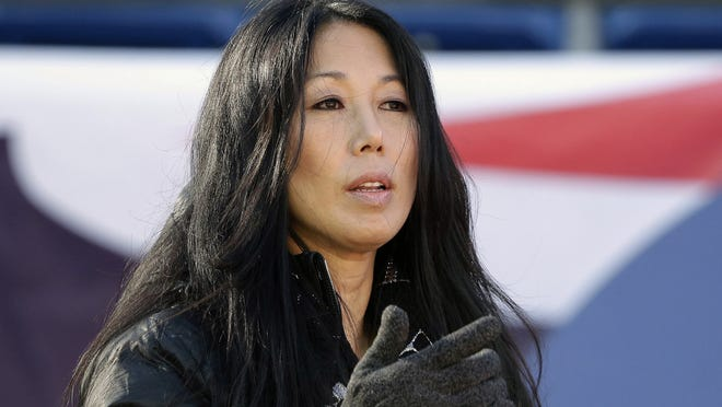 Buffalo Sabres co-owner/president Kim Pegula said her focus is on making the small-market franchise economically sustainable.