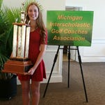 Brighton's Julia Dean was named Miss Golf in Michigan on Sunday.