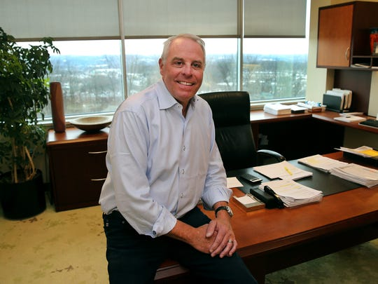 Constellation Brands beer president Paul Hetterich in his Victor office.