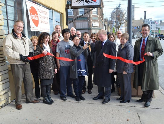 Tokyo Sushi and Steak House ribbon-cutting in downtown