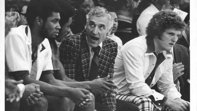 Gus Ganakas was MSU's basketball coach from 1969-76. He compiled a record of 89-84.