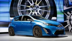 The Scion iM, seen here as a concept, is one of Toyota's