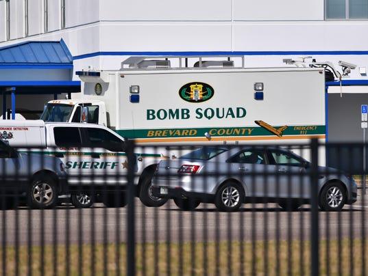 Titusville High Bomb threat