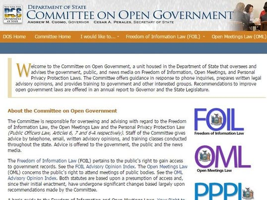State Committee on Open Government