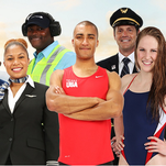 Team USA athletes join United employees in the carrier's newest safety video.