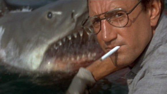 Roy Scheider is about to meet his marine nemesis in