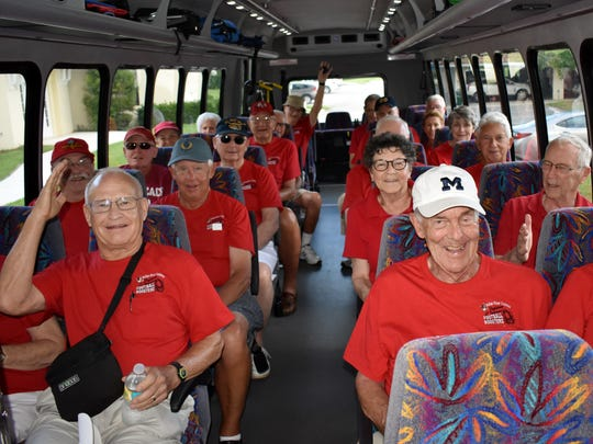 The residents have a chartered bus to get them to the Citrus Bowl on time.