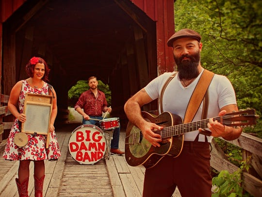 The Rev. Peyton's Big Damn Band will perform on Nov. 27 at the Vogue.