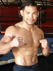 Professional mixed martial arts fighter Joe Taimanglo.