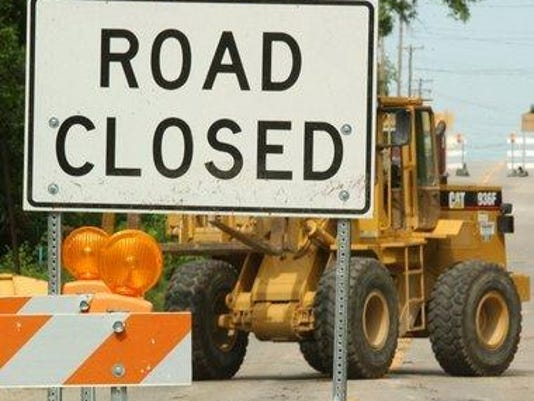 News- Road closed