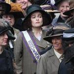 """Helena Bonham Carter plays a pharmacist who joins the protest movement in """"Suffragette,"""" opening Friday."""