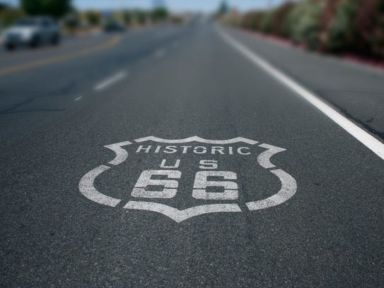 Oklahoma - Route 66 is a famous highway that spans