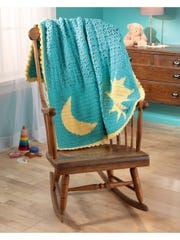 Reversible Color Crochet- Shines So Bright beauty shot