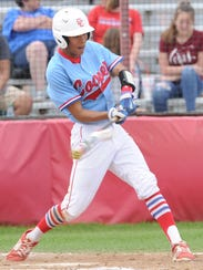 Cooper's Shaun Watson singles in the fourth inning