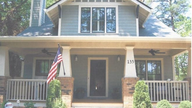 Here's an example of the type of home being considered for the subdivision that's tentatively being called Trinity Station.