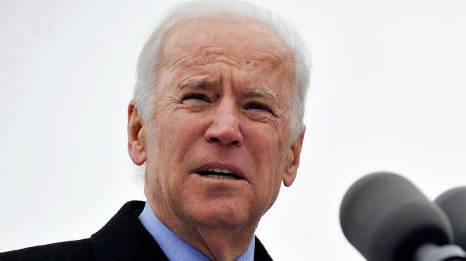 In this Nov. 25, 2013, photo, Vice President Biden speaks in Chicago.