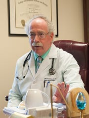 Dr. Michael Bradley, a family physician in Dover, in 2013.