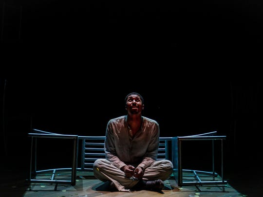Haywood (Nathan Andrew Riley) languishes in solitary