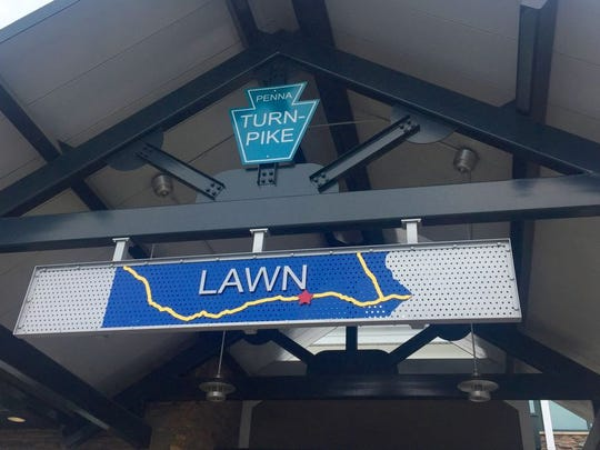 The Lawn Service Plaza is located between Harrisburg