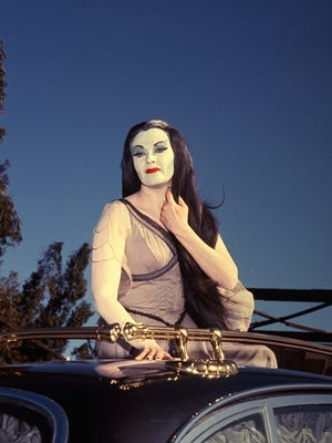 "Actress Yvonne De Carlo as Lily Munster in the film ""Munster, Go Home."