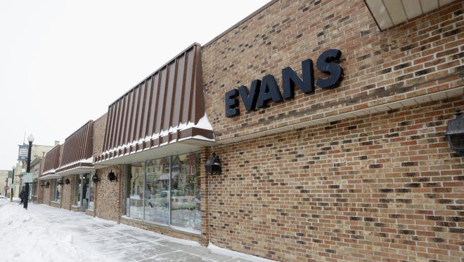 The exterior of Evans as seen Tuesday, March 1, 2016, in Sheboygan Falls.