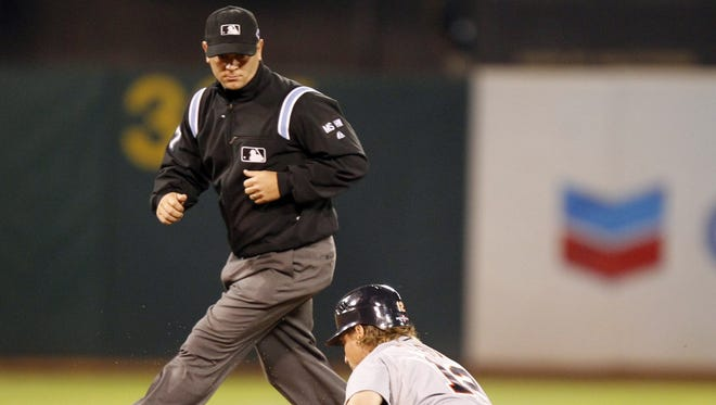 Scott Barry, born in Battle Creek and living in Branch County, has been a full-time Major League Baseball umpire since 2011.