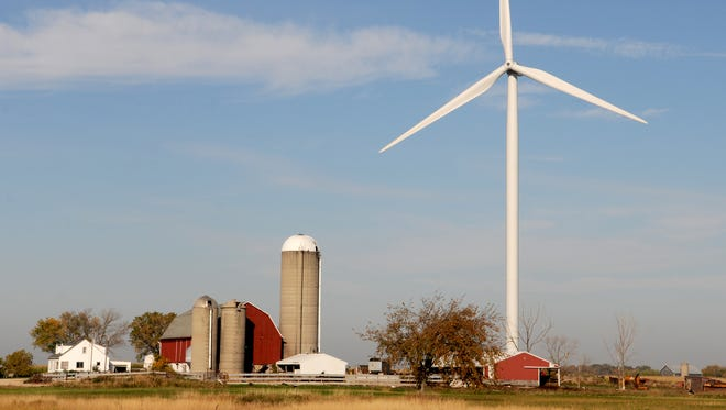 Neighbors are pushing to eliminate wind turbines in the town of Glenmore in southern Brown County.