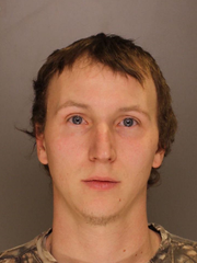 Ryan Lee Ruth of Schaefferstown is accused of taking $4,000 in cash and merchandise from Black Angue Antique Mall in Lancaster County.