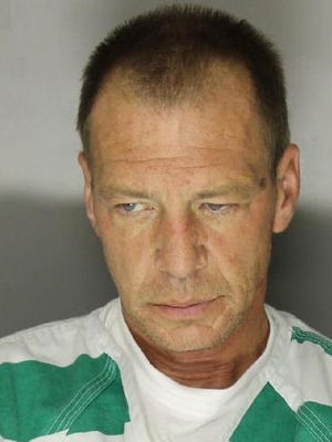 Steven Murn, 48, is charged in several incidents in Chambersburg, including assault of a law enforcement office, disarming a law enforcement officer, and escape.