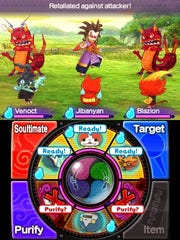 Yo-Kai Watch 2's familiar real-time battle system returns with some tweaks.