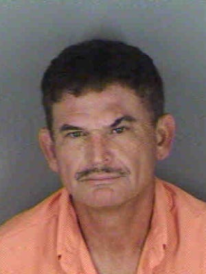 Norberto Delarosa, 49, was charged with animal cruelty.