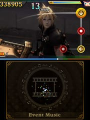"""By tapping the lower screen on the 3DS, you can play notes that appear during cutscenes in """"Theatrhythm Final Fantasy: Curtain Call."""" For an extra challenge, try using the buttons instead of the stylus."""