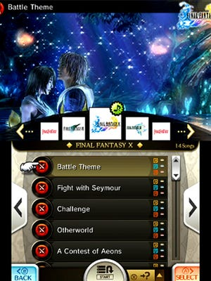 """More than 200 songs are playable in """"Theatrhythm Final Fantasy: Curtain Call,"""" with battle songs, background music and cutscene melodies offered for each title in the long-standing """"Final Fantasy"""" series."""