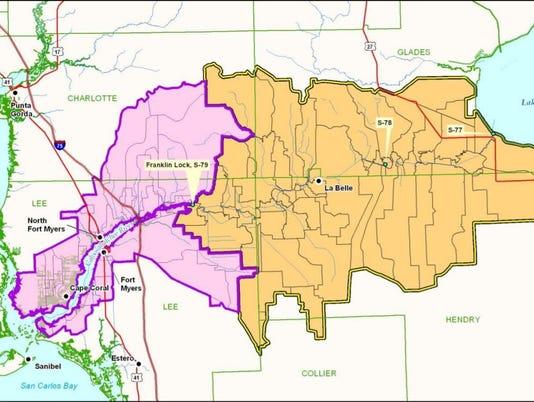 Caloosahatchee River watershed