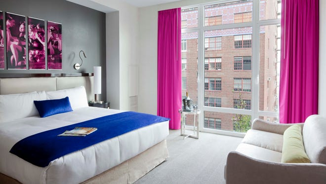 The Gansevoort Park Avenue is one of several properties participating in New York Hotel Week in January 2014.