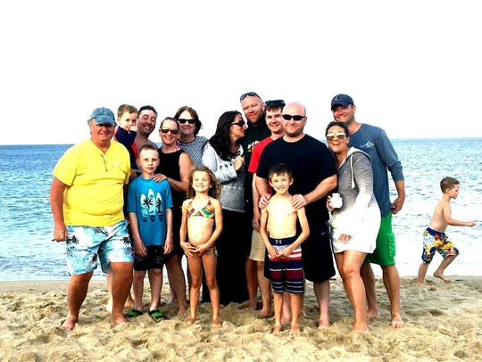 Lauren Svendsen and her family on Cape Cod.