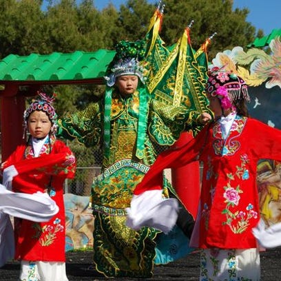 Traditional dances are performed during the annual