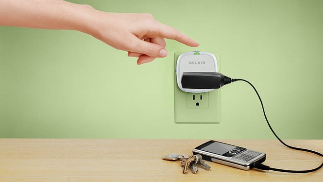 The Conserve line of products from Belkin help you cut off electricity to your gadgets when you don't need it.
