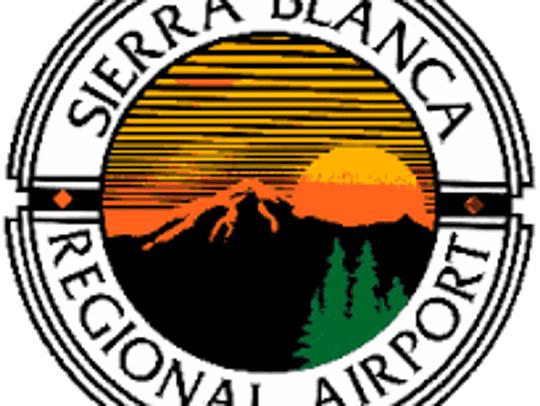 Sierra Blanca Regional Airport's logo