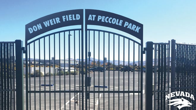 Peccole Park's playing surface will now be called Don Weir Field.
