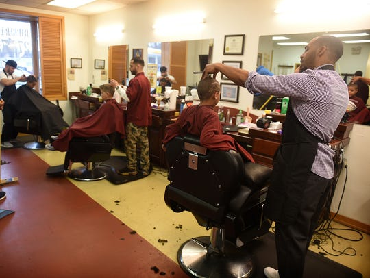 The Lebanon Barber Lounge is a relaxed environment