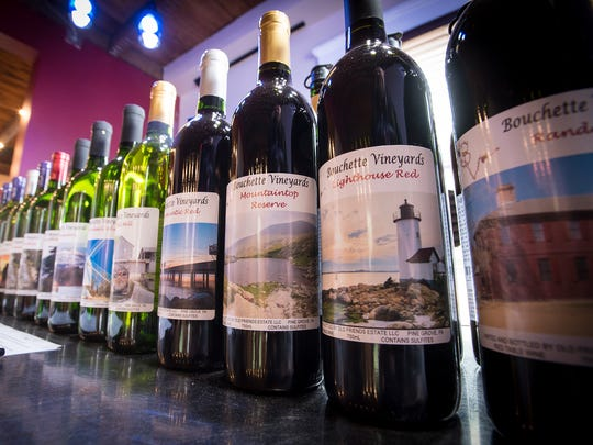 The Bouchette Winery serves 18 varieties of wine and four ciders.