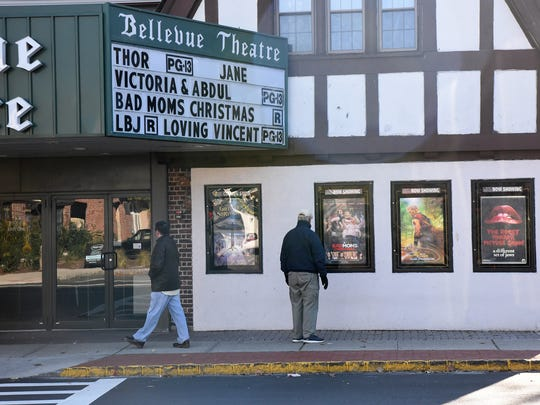 The Bow Tie Cinemas Bellevue Cinema 4 on Bellevue Avenue in Montclair showed movies for the final time on Sunday, Nov. 12, 2017. The lease was not renewed for the movie theater.