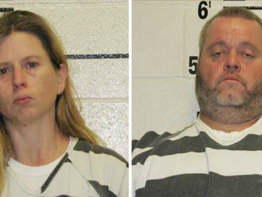Jessica and William Ray were arrested on Thursday after