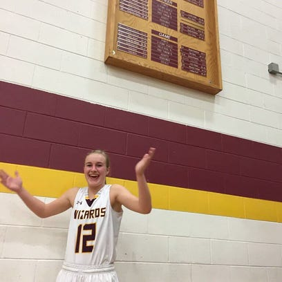 Amanda Ward set a Windsor school record with 37 points