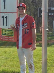 Andrew Chronister had a big game on the mound and at